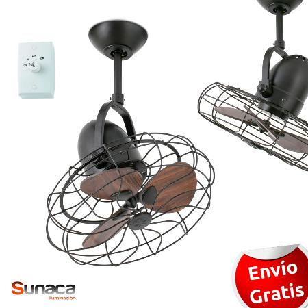 Ventiladores de techo sin luz ventiladores sunaca - Ventilador de techo vintage ...