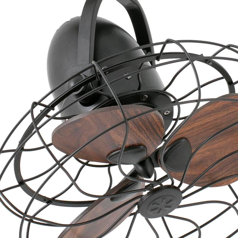 Ventilador faro keiki ventiladores de techo sin luz 33715 - Ventilador de techo vintage ...